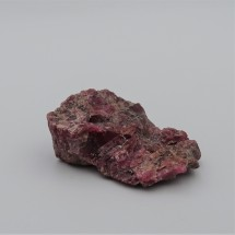 Rhodonite 23.2g raw mineral Brazil