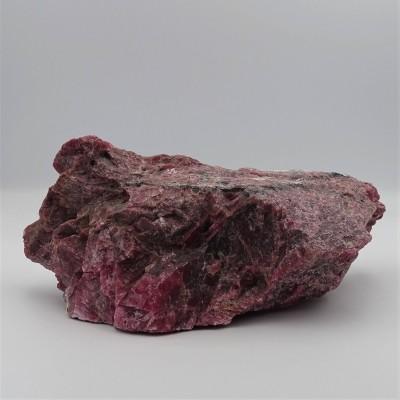 Rhodonite 1229g raw mineral Brazil