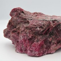 Rhodonite 1229g raw mineral Brazil