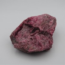 Rhodonite 486g raw mineral Brazil