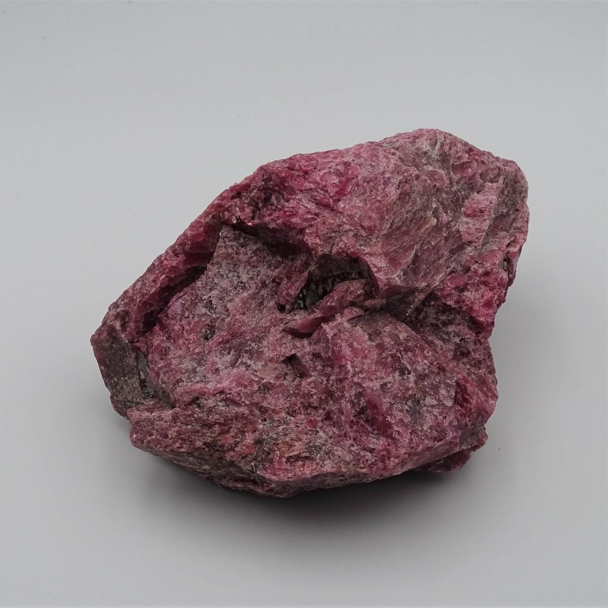 Rhodonite 486g raw mineral Brazil