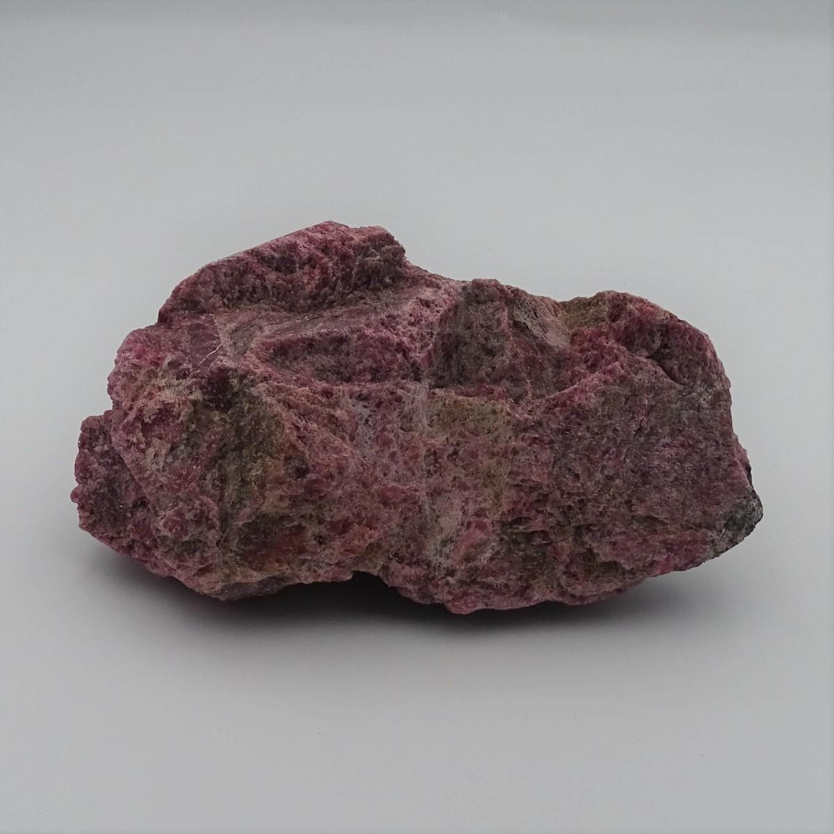 Rhodonite 396g raw mineral Brazil