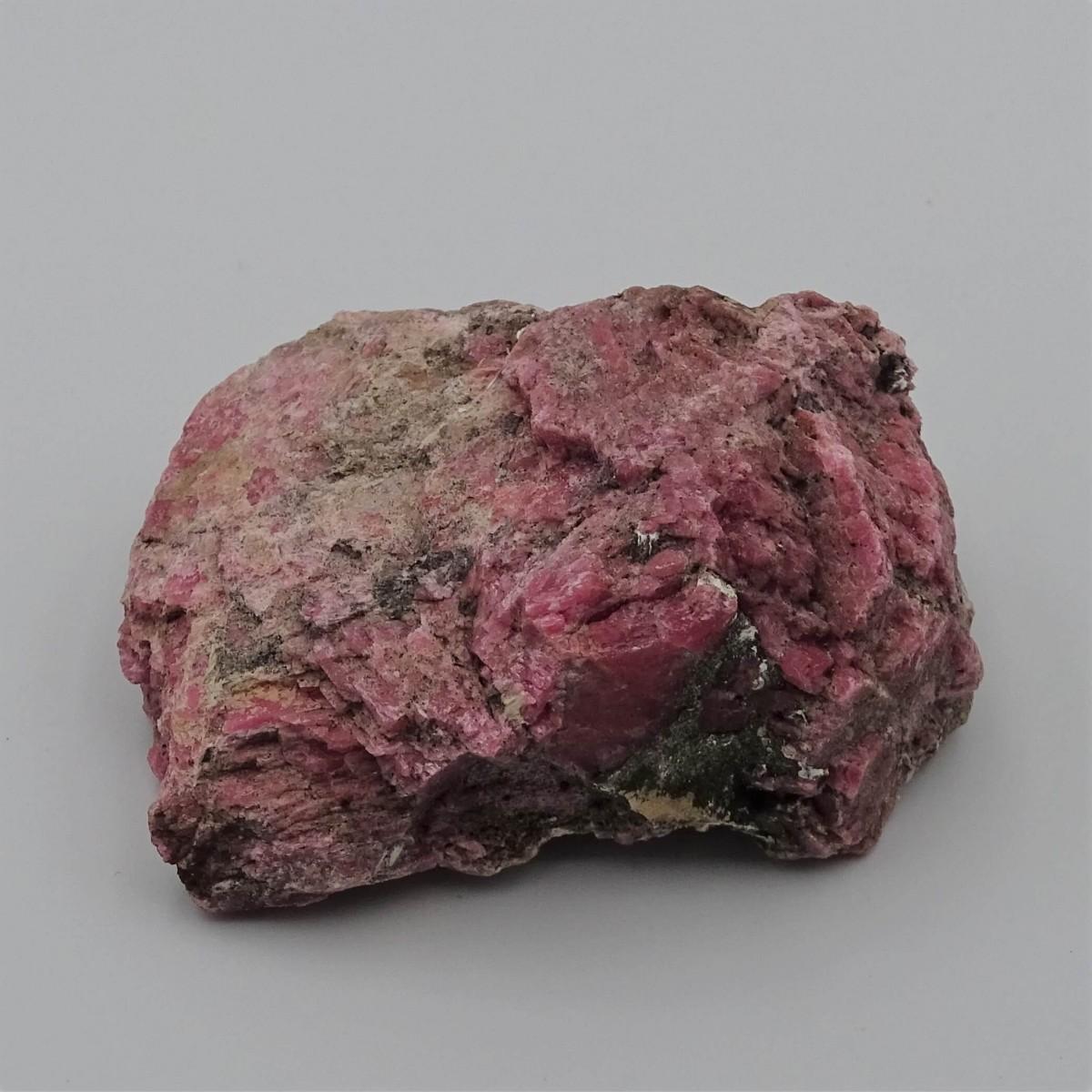 Rhodonite 135g raw mineral Brazil