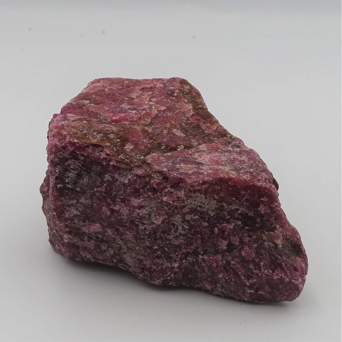 Rhodonite 364g raw mineral Brazil