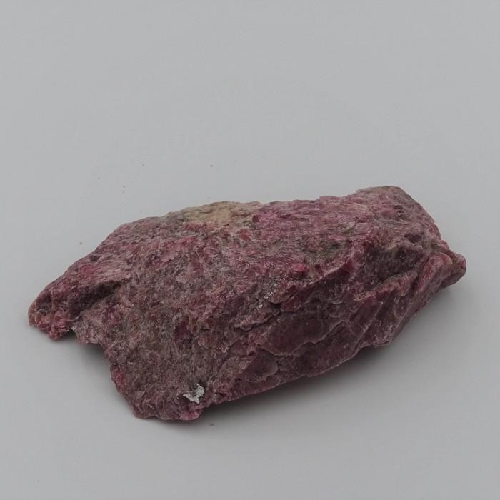 Rhodonite 139g raw mineral Brazil