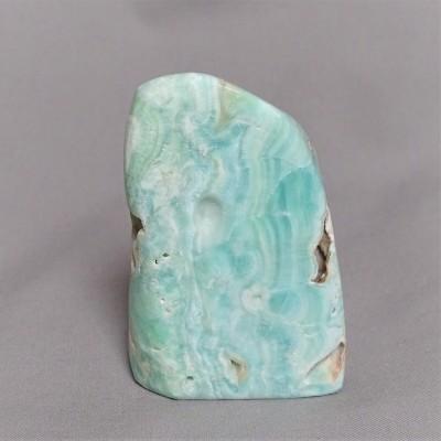 Aragonite blue polished 298g Afghanistan
