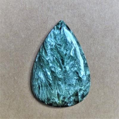 Seraphinite cabochon 10.7 g Russia