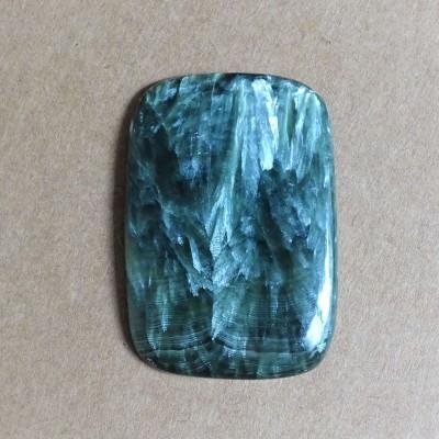 Seraphinite cabochon 11,7g Russia