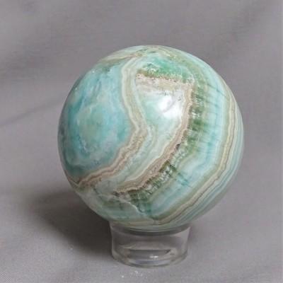Aragonite blue - sphere 431g Afghanistan