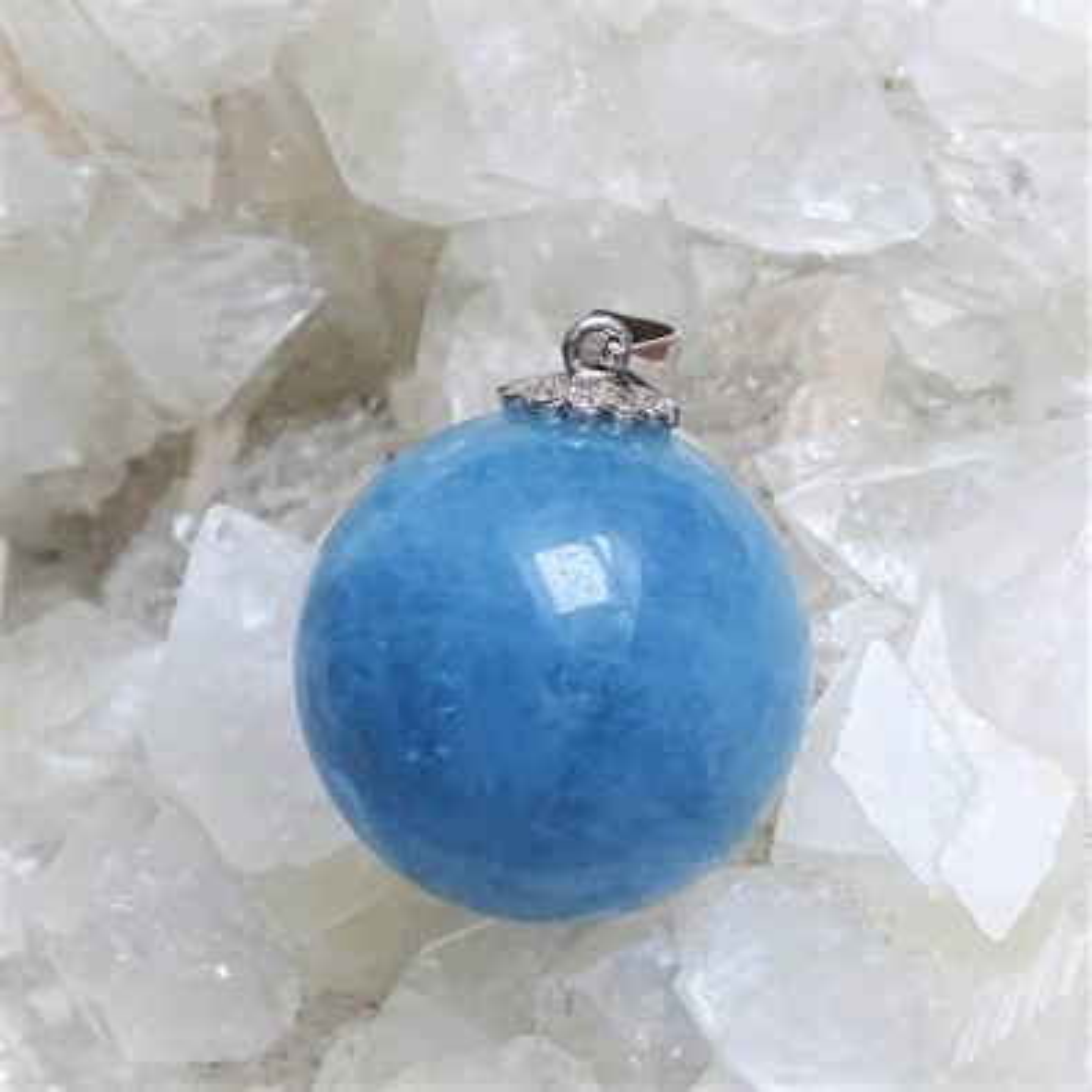 Aquamarine - pendant 15g, Brazil top quality
