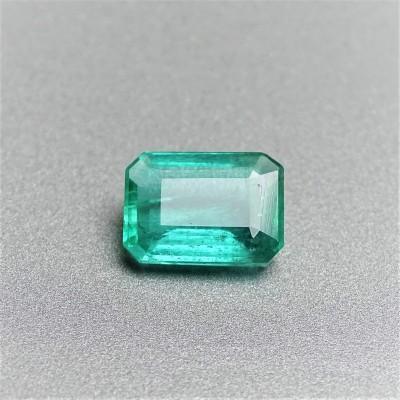 Natural cut emerald 1,89 ct, Zambia