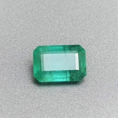 Natural cut emerald 2,54 ct, Zambia