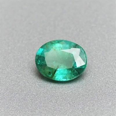 Natural cut emerald 1,76 ct, Zambia