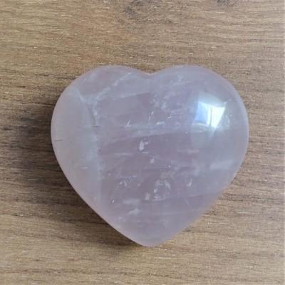 Rose Quartz heart 187g Madagascar