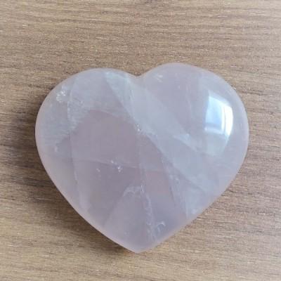 Rose Quartz heart 172g Madagascar