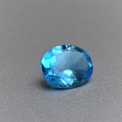 Topaz blue 3,30 ct, Sri Lanka