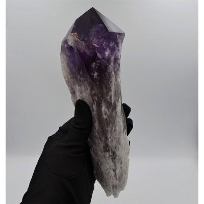 Amethyst crystal scepter 868g, Brazil