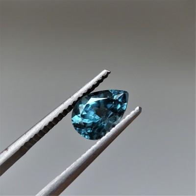 Spinel modro-zelená 1,22 ct Srí Lanka GIA certifikát (tepelně neupravován)