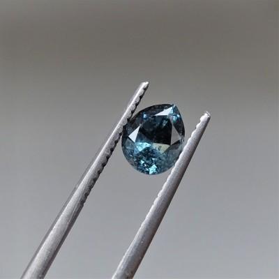 Spinel modro-zelená 1,35 ct Srí Lanka GIA certifikát (tepelně neupraven)