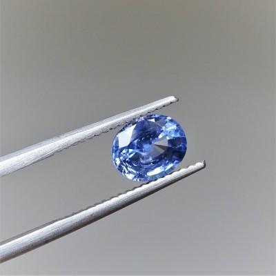 Safír modrý 1,60 ct Srí Lanka GIA certifikát