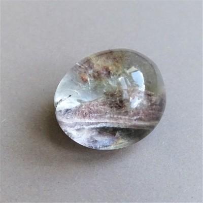 Lodolite (quartz with inclusions)