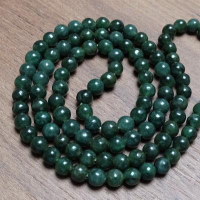 Mineral beads - NEPHRITE  Ø 6.5 mm