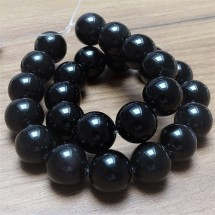Mineral beads - RAINBOW OBSIDIAN - Ø 15 mm