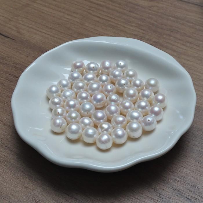 Natural pearls - beads