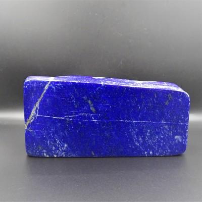 Lapis lazuli/lazurite - díky zlatavým částečkám pyritu, které se krásně třpytí, připomíná hvězdnou noční oblohu.