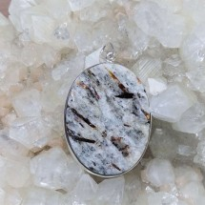 Astrophyllite pendant