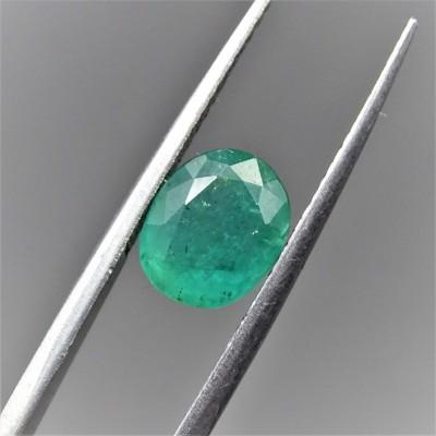 Natural emerald, cut loose gemstone
