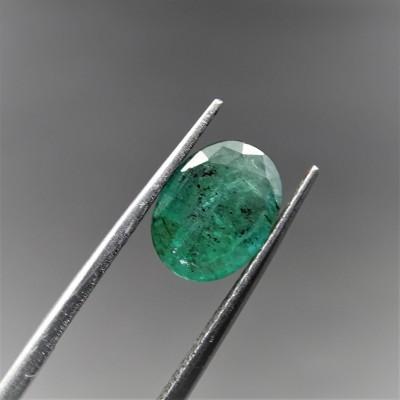 Emerald Zambia natural cut 2.62 ct