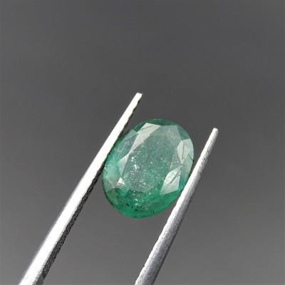 Emerald, loose cut gemstone