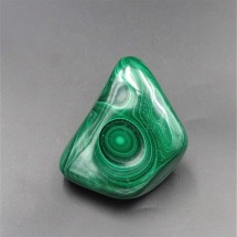 Malachite polished, 238 g,  Congo