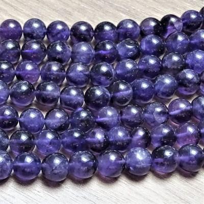 Mineral beads - AMETHYST Ø 7 mm