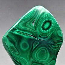 Malachite polished, 273 g,  Congo