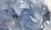 Celestýn - minerals, druse from Madagascar, Minerals - stones
